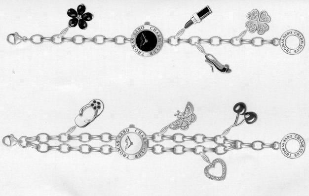 Trendige Thomas Sabo Charm Club Sammelkettchen - auch als Uhren erhältlich